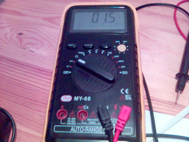 My Digital Multimeter My-68