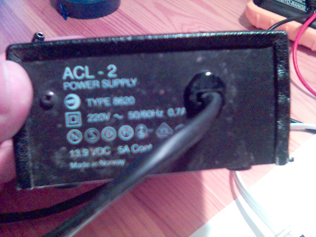 My Power Supply (Output is 13.9V 5A) Perfect filtered